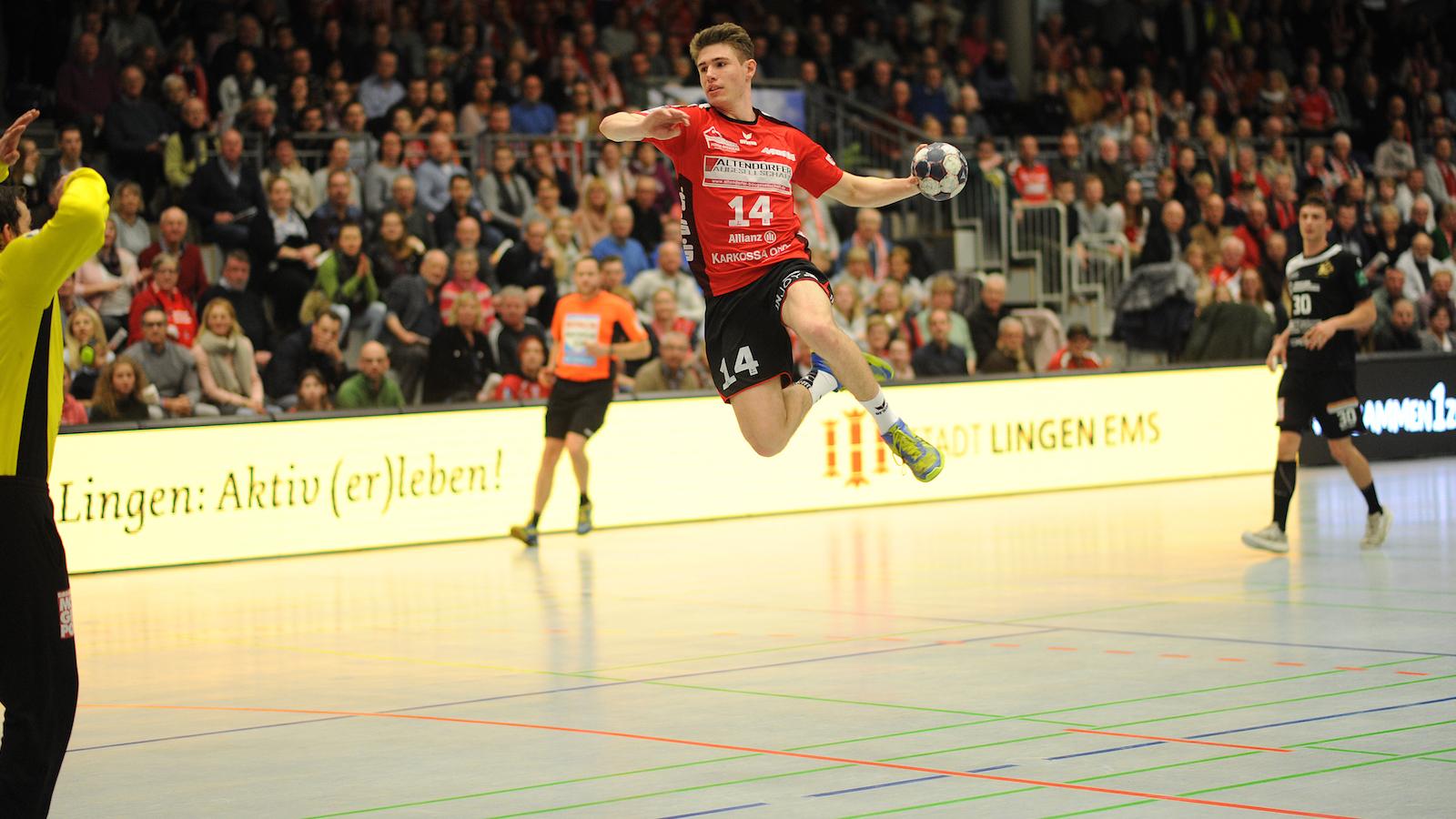 Bergischer HC verpflichtet Talent Yannick Fraatz