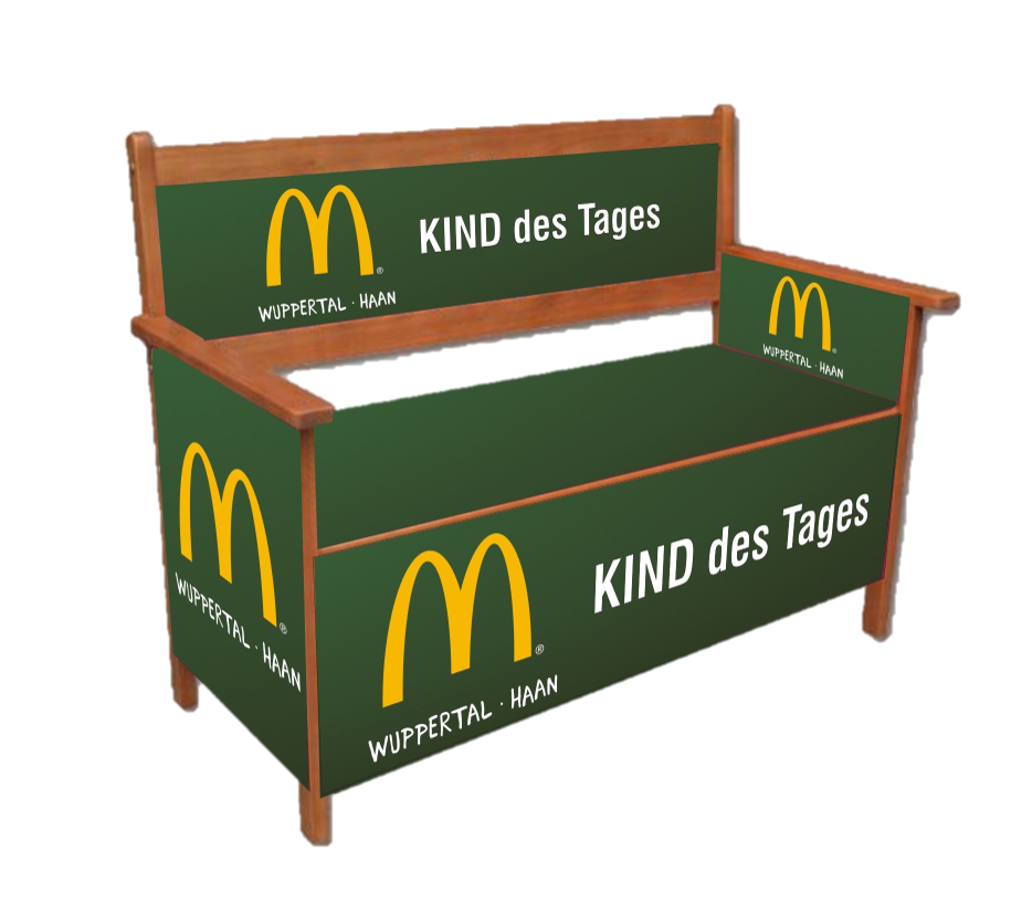 Mc Donald's Kind des Tages